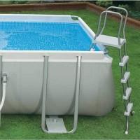 Каркасный бассейн Intex Ultra Frame 26376NP 975х488х132 см + комб.фил.-насос 10000л\ч, лестница, тент, подстилка купить в Минске