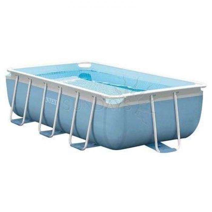 Каркасный бассейн Prism Frame Intex 26772NP 300х175х80см + фильтр-насос, лестница купить в Минске