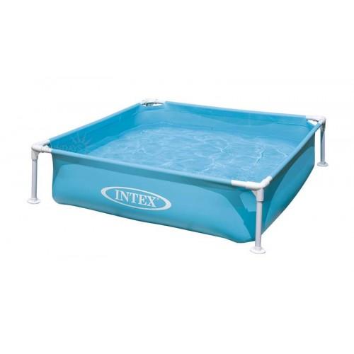 Каркасный детский бассейн Intex Mini 57173NP 122х122х30 см