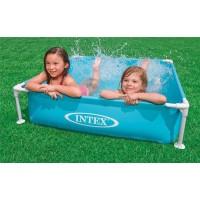 Каркасный детский бассейн Intex Mini 57173NP 122х122х30 см купить в Минске