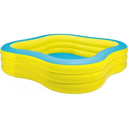 Надувной детский бассейн Intex Swim Center 57495NP 229х229х56 см