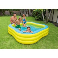 Надувной детский бассейн Intex Swim Center 57495NP 229х229х56 см купить в Минске