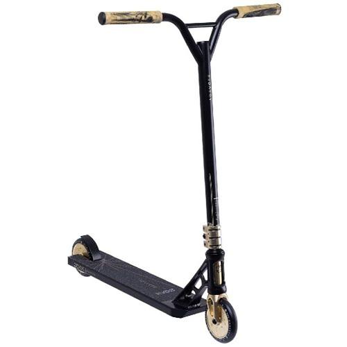 Самокат трюковый XAOS Voyager black/brown
