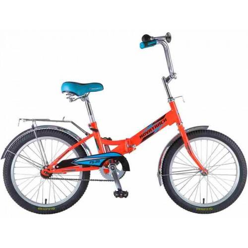 """Велосипед Novatrack FS20 20"""" (оранжевый, 2019)"""