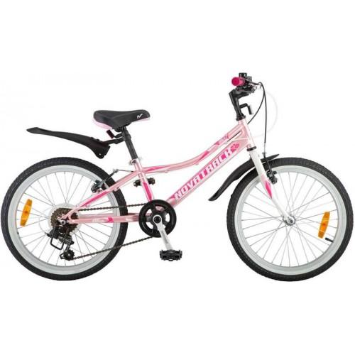 """Велосипед Novatrack Alice 20"""" (розовый, 2018)"""