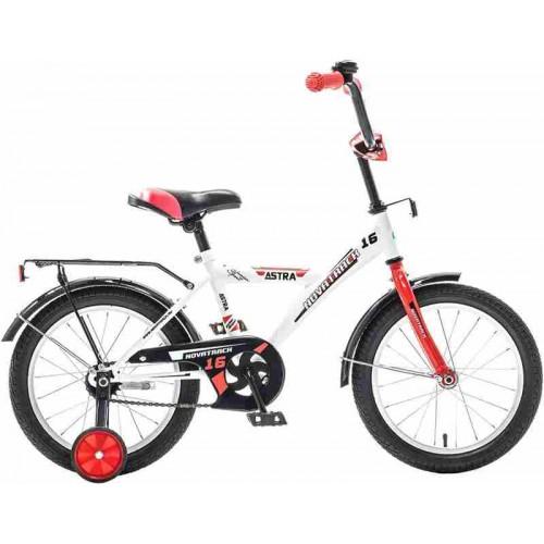 """Велосипед Novatrack Astra 16"""" (белый, 2020)"""