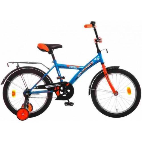 """Велосипед Novatrack Astra 18"""" (синий, 2018)"""