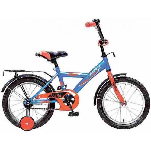 """Велосипед Novatrack Astra 16"""" (синий, 2019)"""