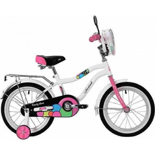 """Велосипед Novatrack Candy 20"""" (белый, 2019)"""