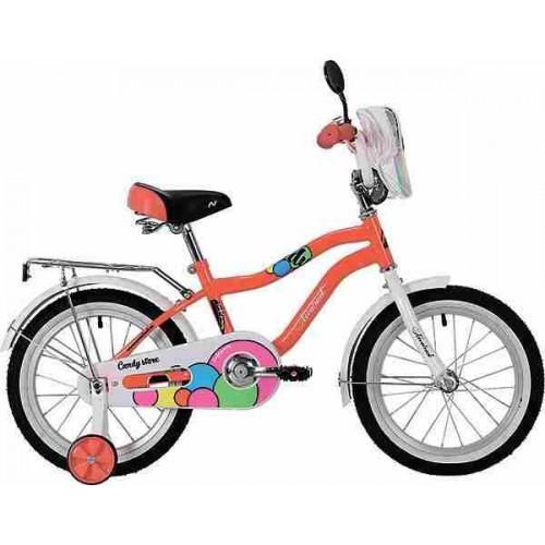 """Велосипед Novatrack Candy 20"""" (коралловый, 2019)"""