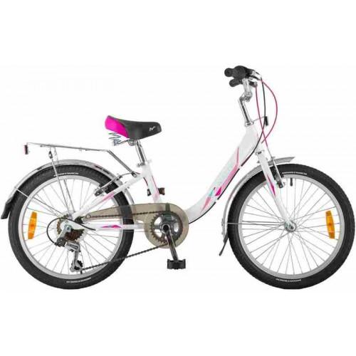 "Велосипед Novatrack Ancona 20"" (белый, 2019)"
