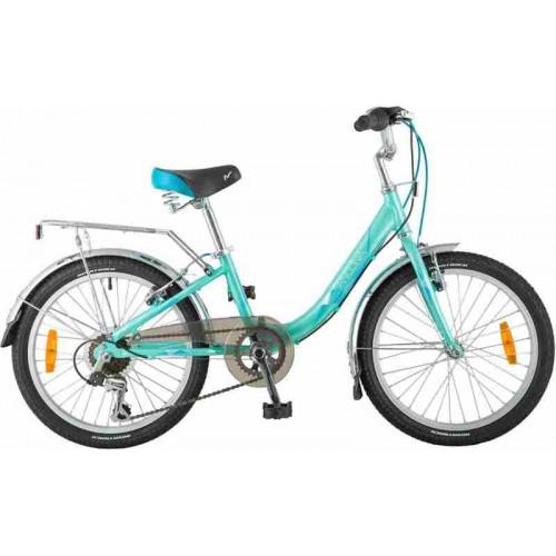 """Велосипед Novatrack Ancona 20"""" (бирюзовый, 2019)"""