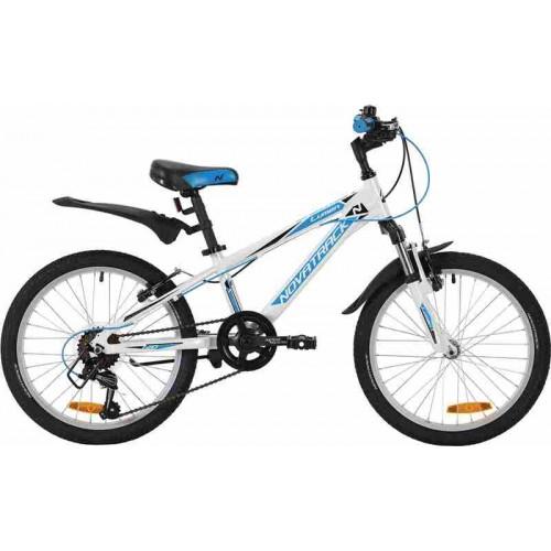 """Велосипед Novatrack Lumen 20"""" (белый, 2019)"""