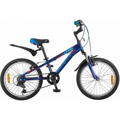 """Велосипед Novatrack Lumen 20"""" (синий, 2019)"""