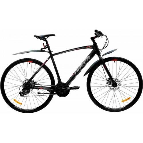 """Велосипед Racer Alpina Man 1.0 28"""" (черный, 2019)"""