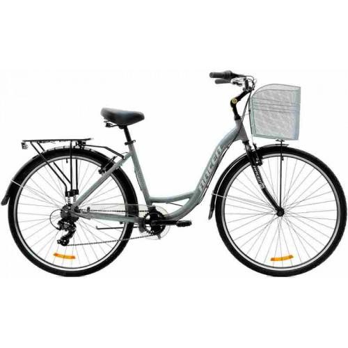 "Велосипед Racer Tempo CTB 28"" (серый, 2019)"