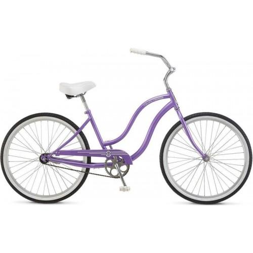 "Велосипед Schwinn S1 Women 26"" (фиолетовый, 2019)"