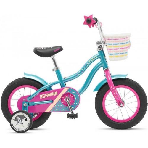 "Велосипед Schwinn Pixie 12"" (бирюзовый/розовый, 2020)"
