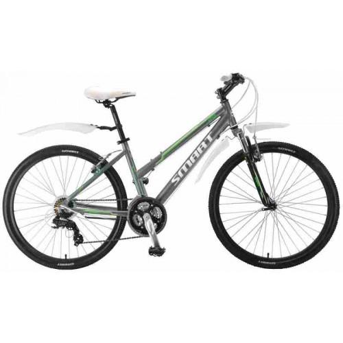 """Велосипед Smart Vega 26"""" (серый матовый, 2018)"""