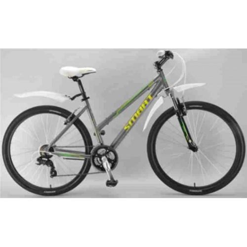 Велосипед Smart Vega 27.5 (серый/желтый, 2018)