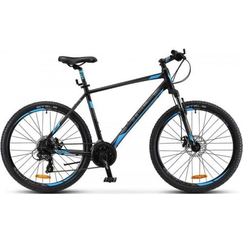 """Велосипед Stels Navigator 630 MD 26"""" V020 (чёрный/синий, 2018)"""