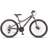 """Велосипед Stels Navigator 610 MD 26"""" V040 (серый/зеленый, 2018)"""