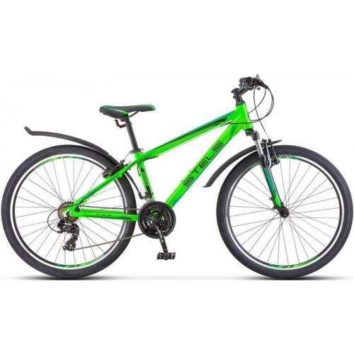 """Велосипед Stels Navigator 620 V 26"""" V010 (неоновый/зеленый, 2019)"""