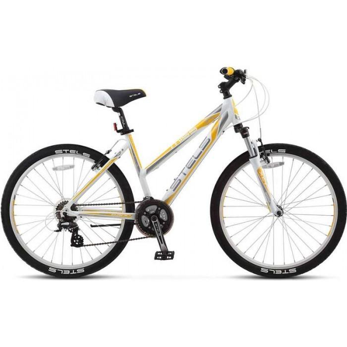 """Велосипед Stels Miss 6300 V 26"""" V010 (белый/желтый, 2018) купить в Минске"""