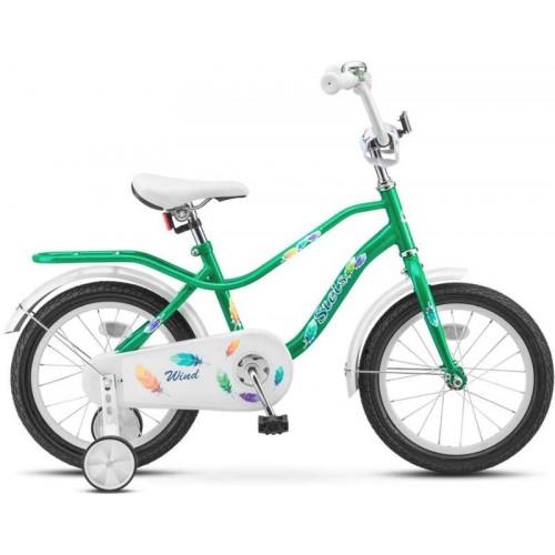 "Велосипед Stels Wind 14"" Z010 (зеленый, 2018)"