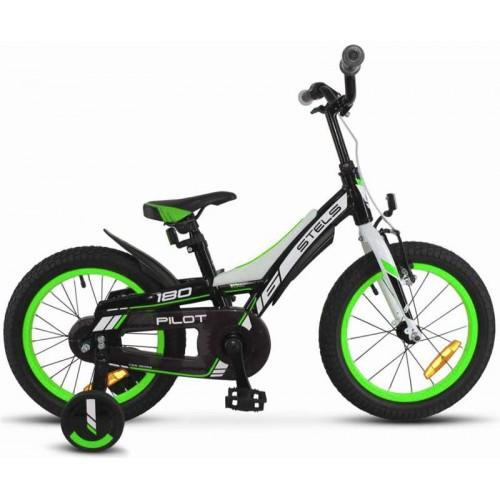 "Велосипед Stels Pilot 180 16"" V010 (зеленый, 2018)"