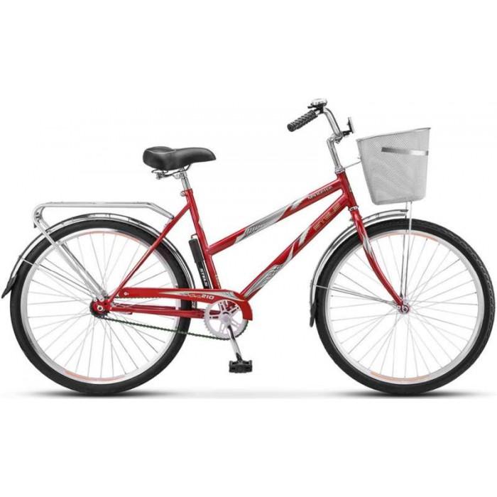 """Велосипед Stels Navigator 210 Lady 26"""" Z010 (красный, 2018) купить в Минске"""