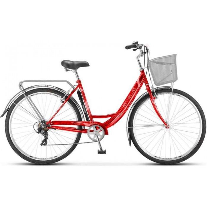 """Велосипед Stels Navigator 395 28"""" Z010 (красный, 2018) купить в Минске"""