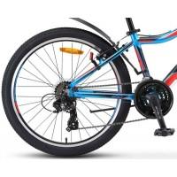 """Велосипед Stels Navigator 450 V 24"""" V010 (cиний/красный, 2019) купить в Минске"""