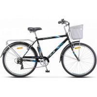 """Велосипед Stels Navigator 250 Gent 26"""" Z010 (черный, 2018) купить в Минске"""
