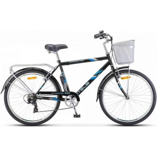 """Велосипед Stels Navigator 250 Gent 26"""" Z010 (черный, 2018)"""