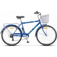 """Велосипед Stels Navigator 250 Gent 26"""" Z010 (синий, 2018) купить в Минске"""
