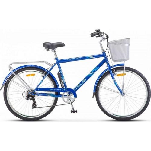"Велосипед Stels Navigator 250 Gent 26"" Z010 (синий, 2018)"