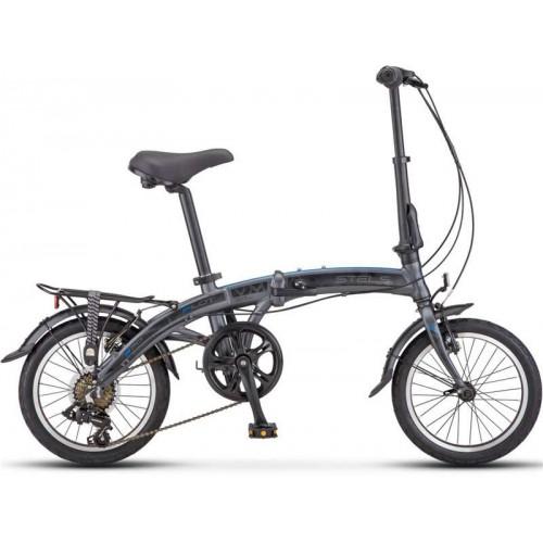 "Велосипед Stels Pilot 370 16"" V010 (серый, 2019)"