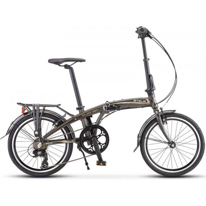 """Велосипед Stels Pilot 650 20"""" V010 (коричневый, 2019) купить в Минске"""