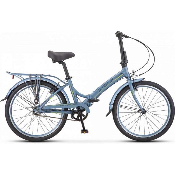 """Велосипед Stels Pilot 770 24"""" V010 (серый, 2019) купить в Минске"""
