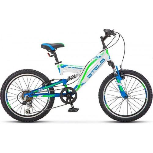 """Велосипед Stels Mustang V 20"""" V010 (белый, 2019)"""