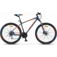 """Велосипед Stels Navigator 750 D 27.5"""" V010 (синий/оранжевый, 2019) купить в Минске"""