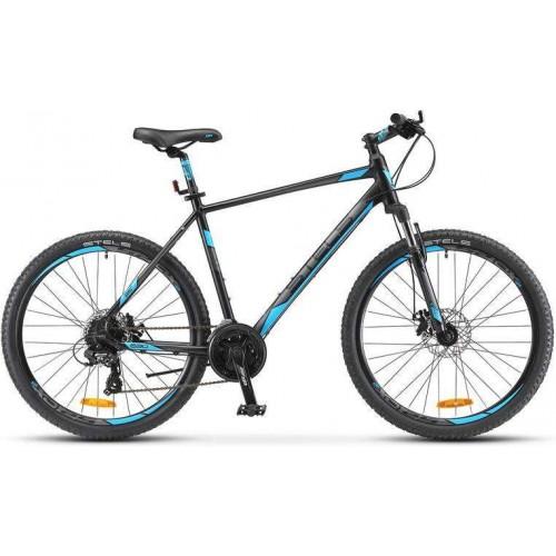 """Велосипед Stels Navigator 630 MD 26"""" V020 (антрацитовый/синий, 2019)"""