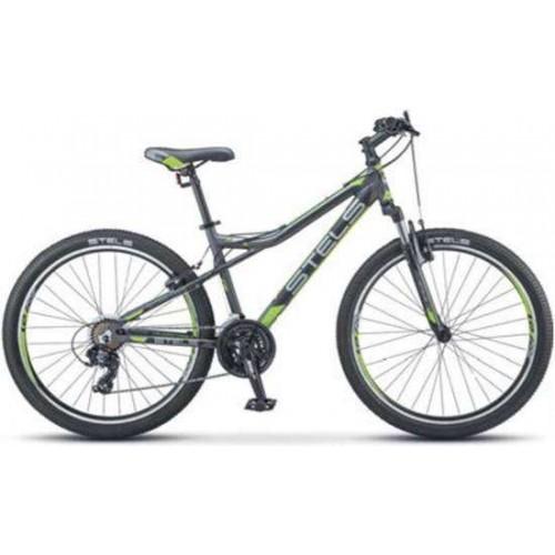 """Велосипед Stels Navigator 610 V 26"""" V040 (серый/зеленый, 2019)"""