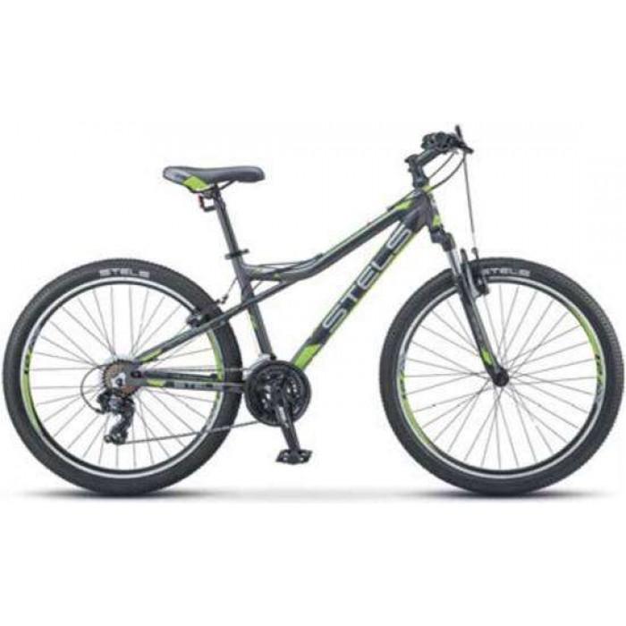 """Велосипед Stels Navigator 610 V 26"""" V040 (серый/зеленый, 2019) купить в Минске"""