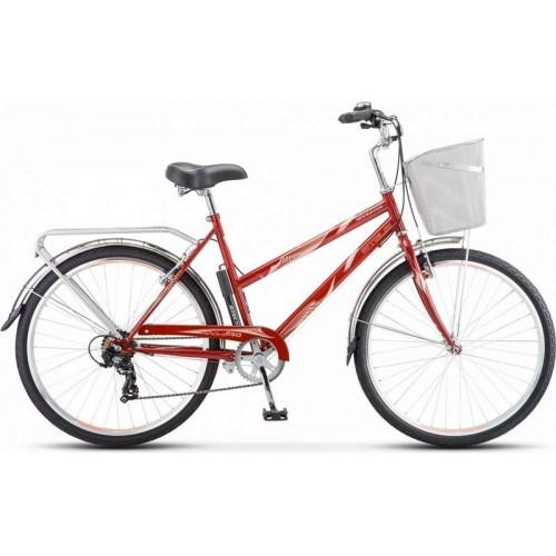 """Велосипед Stels Navigator 250 Lady 26"""" Z010 (темно-красный, 2019)"""