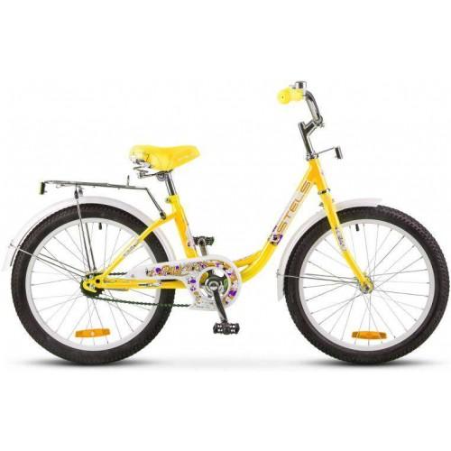 """Велосипед Stels Pilot 200 Lady 20"""" Z010 (желтый, 2019)"""