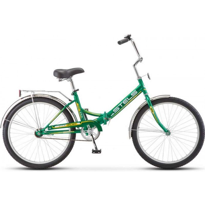 """Велосипед Stels Pilot 710 24"""" (зеленый/желтый, 2018) купить в Минске"""