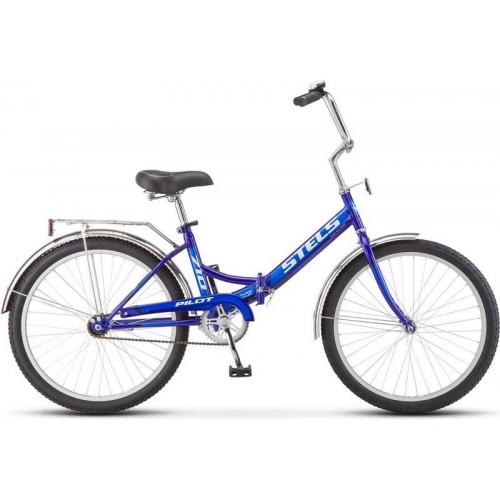 "Велосипед Stels Pilot 710 24"" (синий, 2018)"