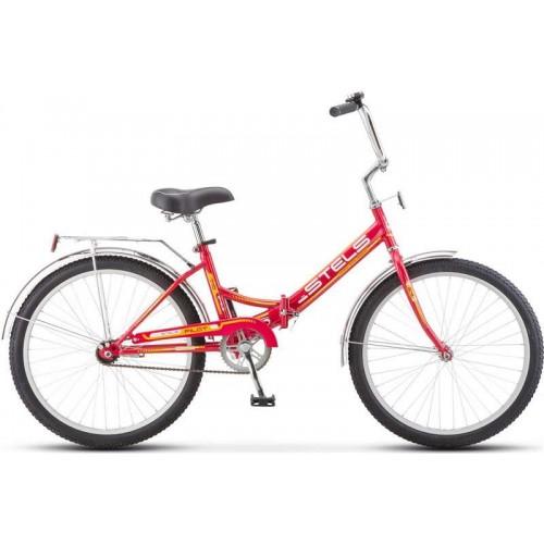 """Велосипед Stels Pilot 710 24"""" (малиновый, 2018)"""